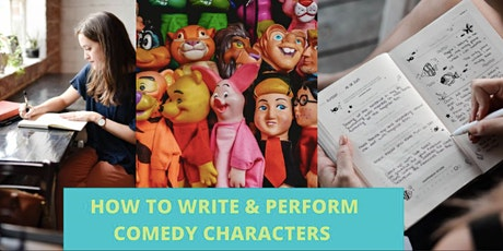 How to Write and Perform Comedy Characters - Women's Online Masterclass tickets