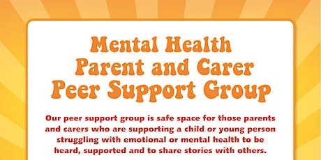 Mental Health Peer Support Group LGBT+ information tickets
