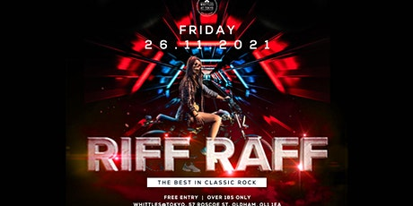 Riff Raff  - Classic Rock Covers Band tickets