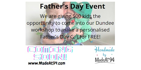 Father's Day Event - Make a keyring tickets