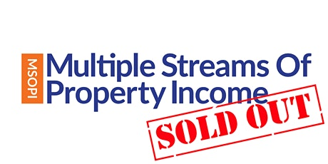 Multiple Streams of Property Income tickets
