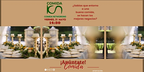EAT & MEET:  Comida Empresarial y Networking 21May entradas