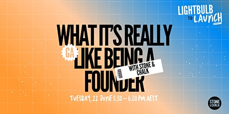 What it's Really Like Being a Founder tickets
