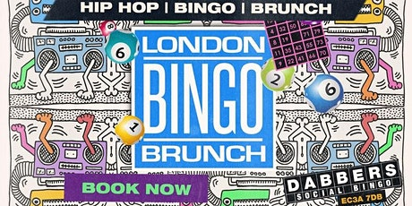 London Bingo Brunch: 4th July All American Hip Hop Relaunch Party tickets