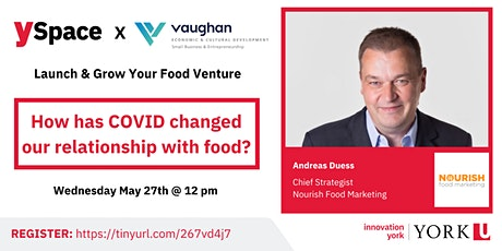 Launch & Grow Your Food Venture| How COVID Changed Relationships with Food tickets
