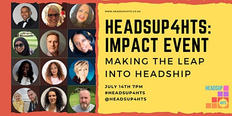 HeadsUp4HTs Impact Event: Making the Leap into Headship tickets