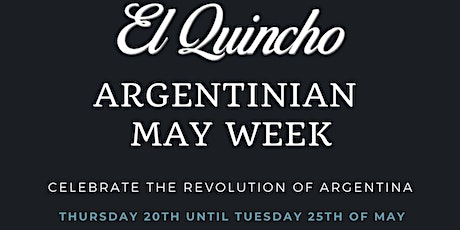 Argentinian May Week tickets