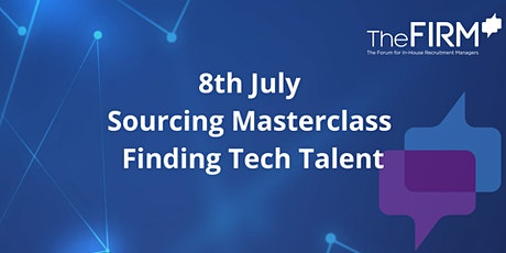 Sourcing Masterclass - Finding Tech Talent (Premium Members only) tickets