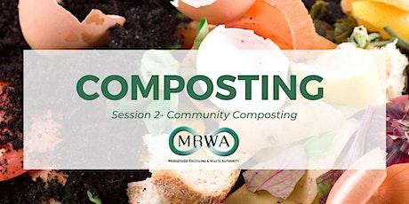 Composting Webinar 2: Community Composting tickets