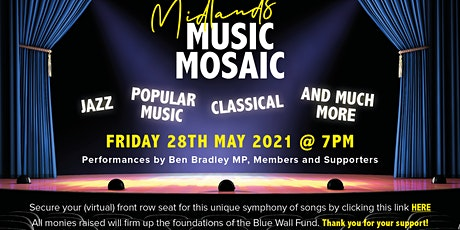 Midlands Music Mosaic via Zoom tickets