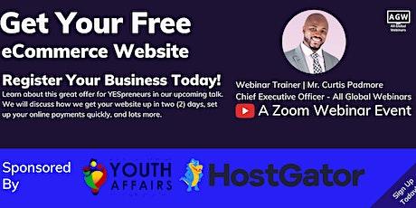 YESpreneurs - Let's Build Your eCommerce Website entradas