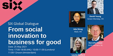 From social innovation to business for good - a global dialogue tickets