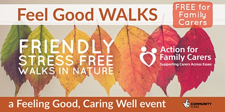 HOCKLEY - FEEL GOOD  WALK and WELLBEING CHECK-IN tickets