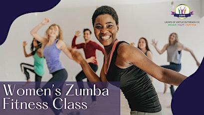 Live Women's Zumba Fitness Class tickets