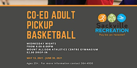 Co-ed Adult Pickup Basketball tickets