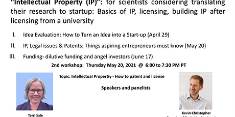 IP, Legal issues & Patents: Things aspiring entrepreneurs must know tickets