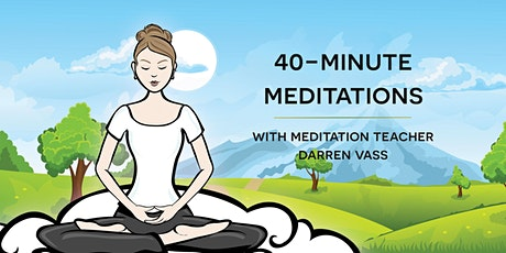 IN_PERSON - Meditations for relaxation tickets