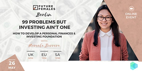 How to develop a personal finances & investing foundation tickets