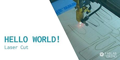 Hello World! Corso pratico base di Lasercut biglietti