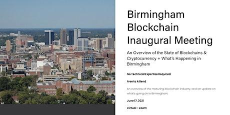 Birmingham Blockchain Inaugural Meeting bilhetes