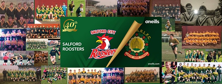 Salford City Roosters 40th Anniversary Black Tie Dinner image