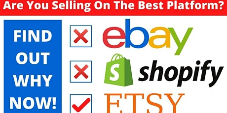 How To Start  A Business On Etsy - A Newbies Guide. Get The Inside Info tickets
