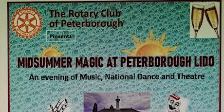MIDSUMMER MAGIC AT PETERBOROUGH LIDO tickets