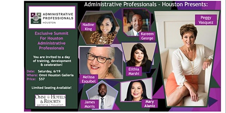 Exclusive Summit for Houston Administrative Professionals  by: AP-H tickets