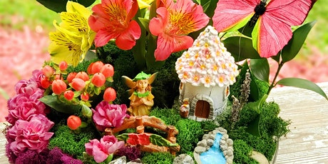 Live Fairy Garden Workshop tickets