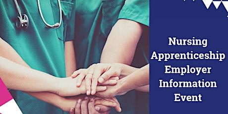 Nursing Apprenticeship Employer Information Event tickets