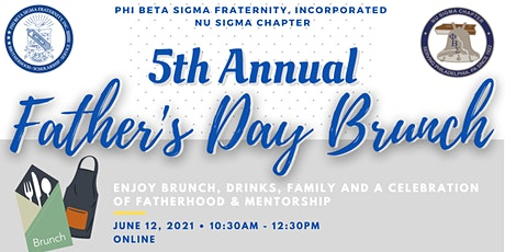 ΦΒΣ Nu Sigma Chapter: 5th Annual Father's Day Brunch tickets