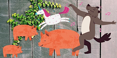 The Puzzle Tales and The Three Little Pigs! tickets