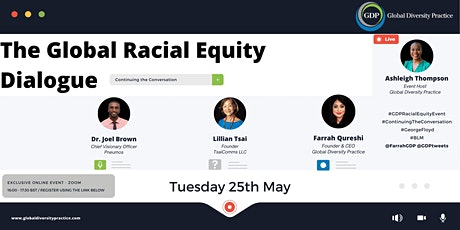 The Global Racial Equity Dialogue - Continuing the Conversation tickets