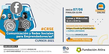 Comunicación y Redes Sociales para Emprendedorxs | CET Atilra entradas