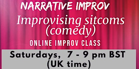 Narrative improv - Improvising sitcoms tickets