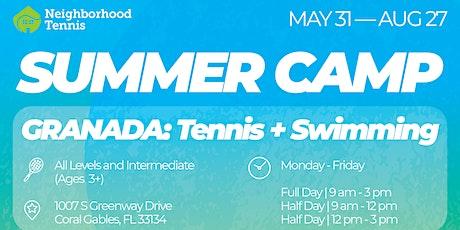 Granada Summer Camp: Tennis + Swimming tickets