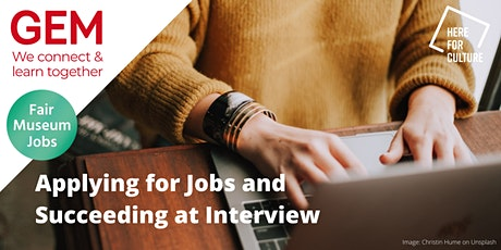 Applying for Jobs and Succeeding at Interview tickets
