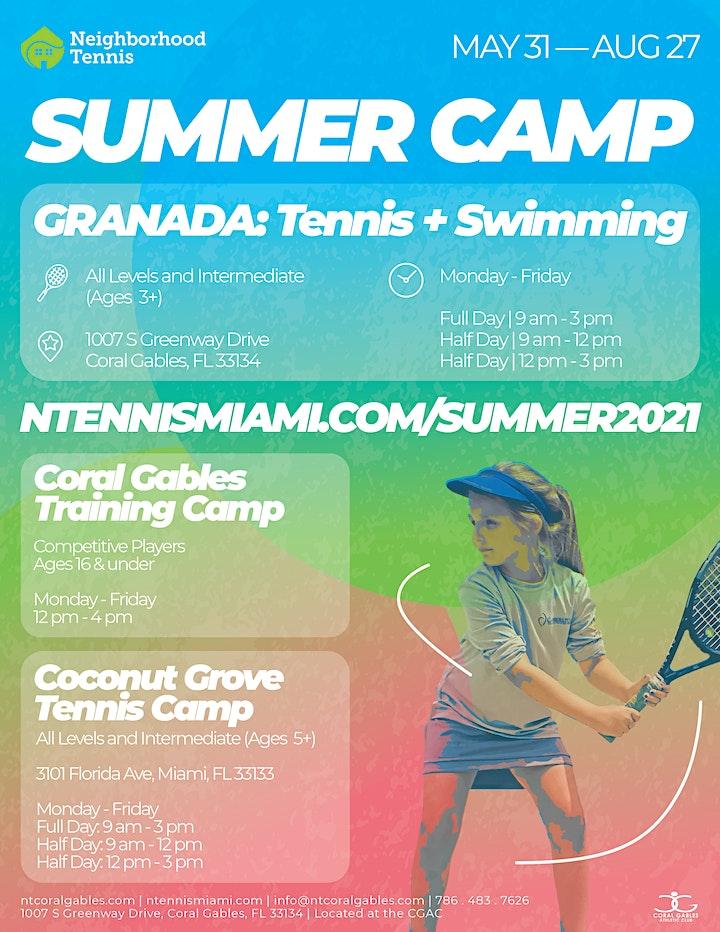 Granada Summer Camp: Tennis + Swimming image