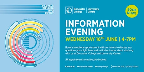 Virtual Information Evening tickets