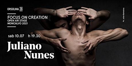 JULIANO NUNES - Synergy biglietti
