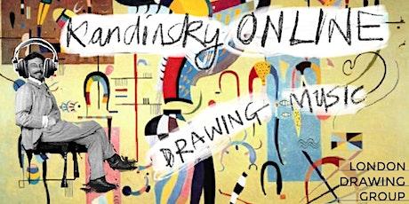 KANDINSKY ONLINE: Drawing Music tickets