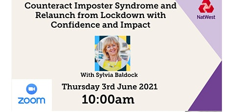 Counteract Imposter Syndrome & Relaunch from Lockdown tickets