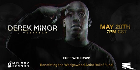 Derek Minor Live @ HOME (Livestream) tickets