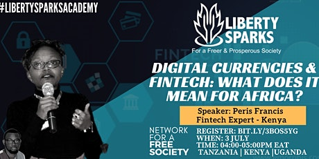 DIGITAL CURRENCIES & FINTECH: WHAT DOES IT MEAN FOR AFRICA? tickets