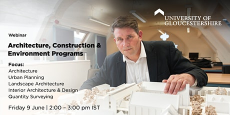 Architecture, Construction and Environment Programs tickets