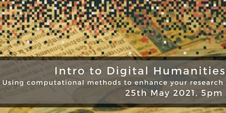 Intro to Digital Humanities tickets