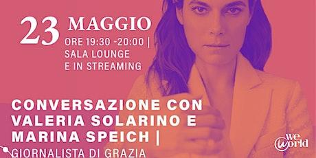 WeWorld Festival - Conversazione con Valeria Solarino tickets