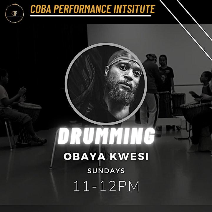 CPI Children's Open Drumming Class - Obaya Kwesi image