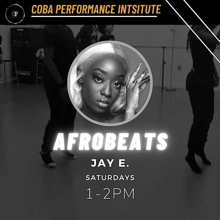 CPI Children's Open Afrobeats  Class - JayE. (Janice Ellis) image