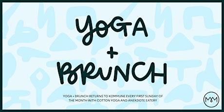 Yoga & Brunch - August tickets